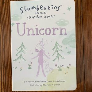 Slumberkins, Unicorn Board Book, NEW
